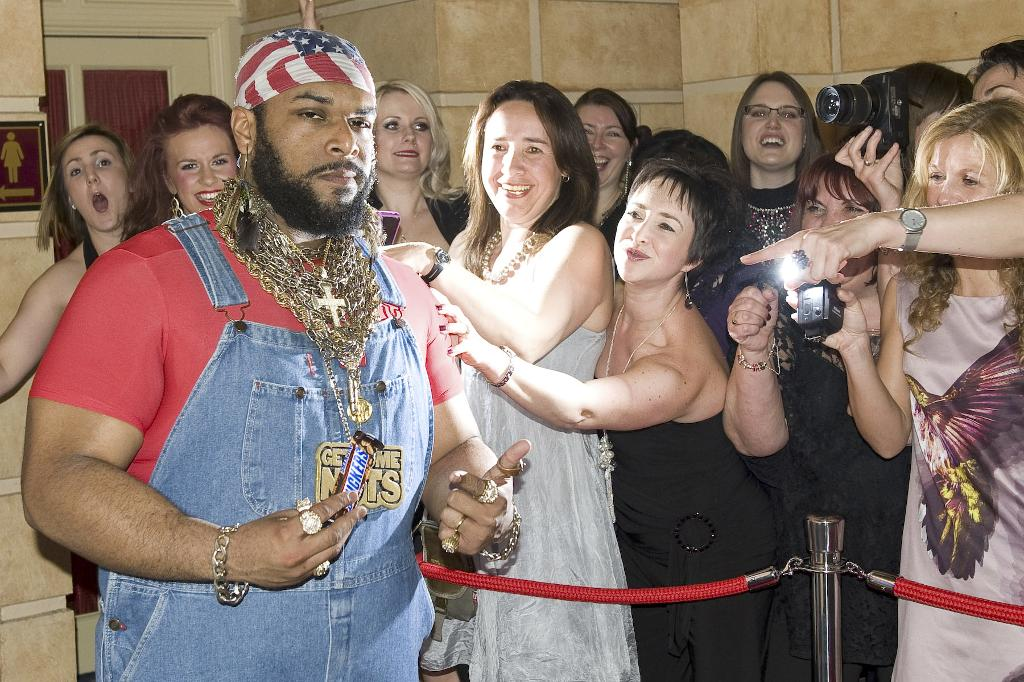 Mr T Lookalike Marella Cruise hire Northampton London Milton Keynes UK 80s event ideas DJ Event