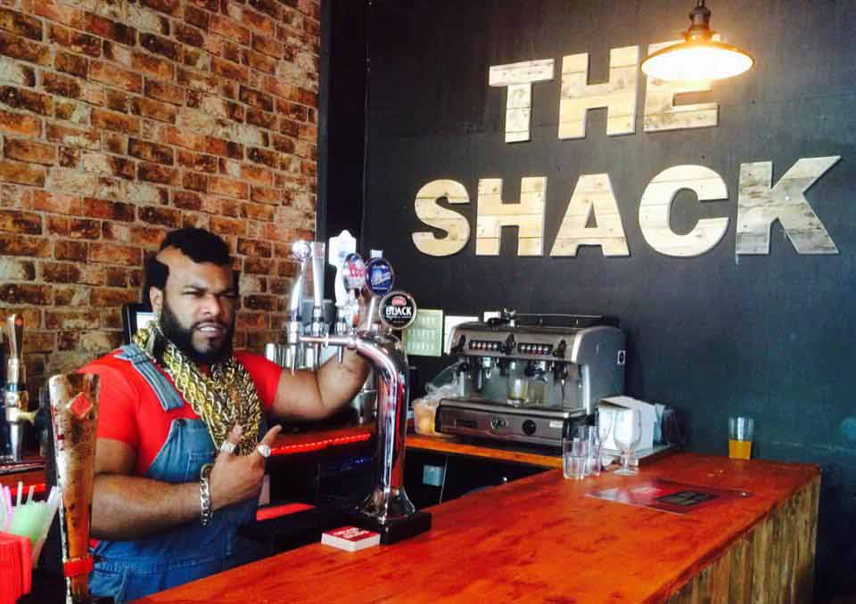 Mr T at the Shack
