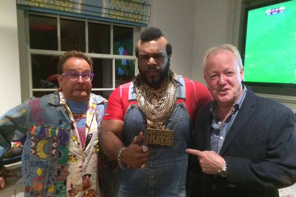 Mr T celebrity parties and 80s events