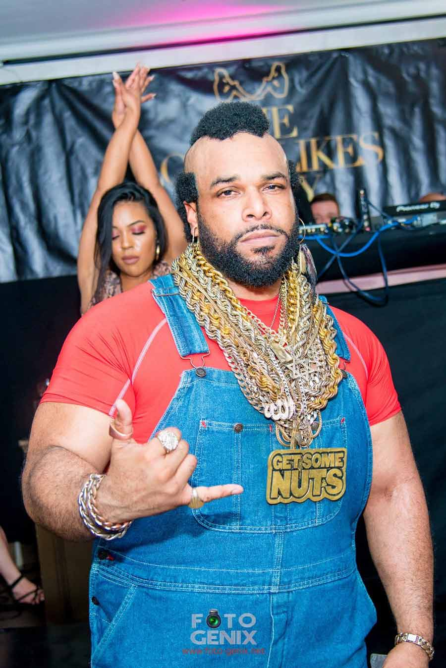Mr T Lookalike Get Some Nuts Party Events 80s events
